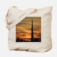 Dubai skyscrapers Tote Bag