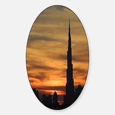 Dubai skyscrapers Decal
