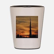 Dubai skyscrapers Shot Glass