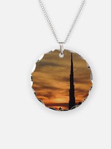 Dubai skyscrapers Necklace