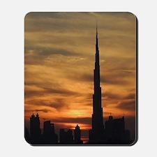 Dubai skyscrapers Mousepad