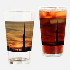 Dubai skyscrapers Drinking Glass
