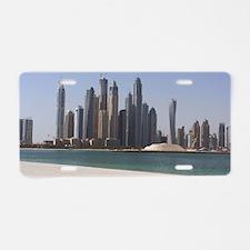 Dubai skyline Aluminum License Plate