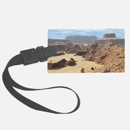 Death Valley Luggage Tag