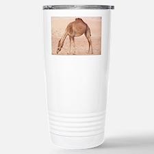 Camel in desert Travel Mug