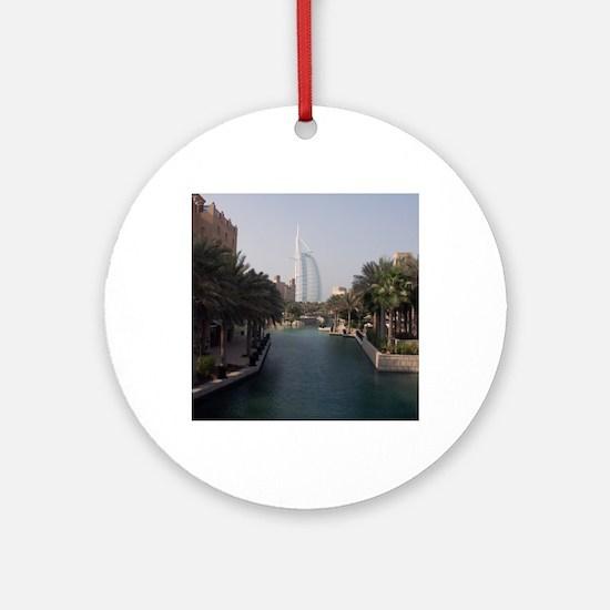 Burj Al Arab Round Ornament