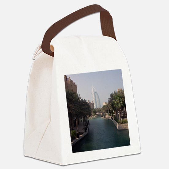Burj Al Arab Canvas Lunch Bag