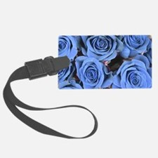 Blue Roses Luggage Tag