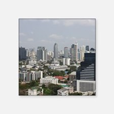 """Bangkok Square Sticker 3"""" x 3"""""""