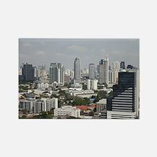Bangkok Rectangle Magnet