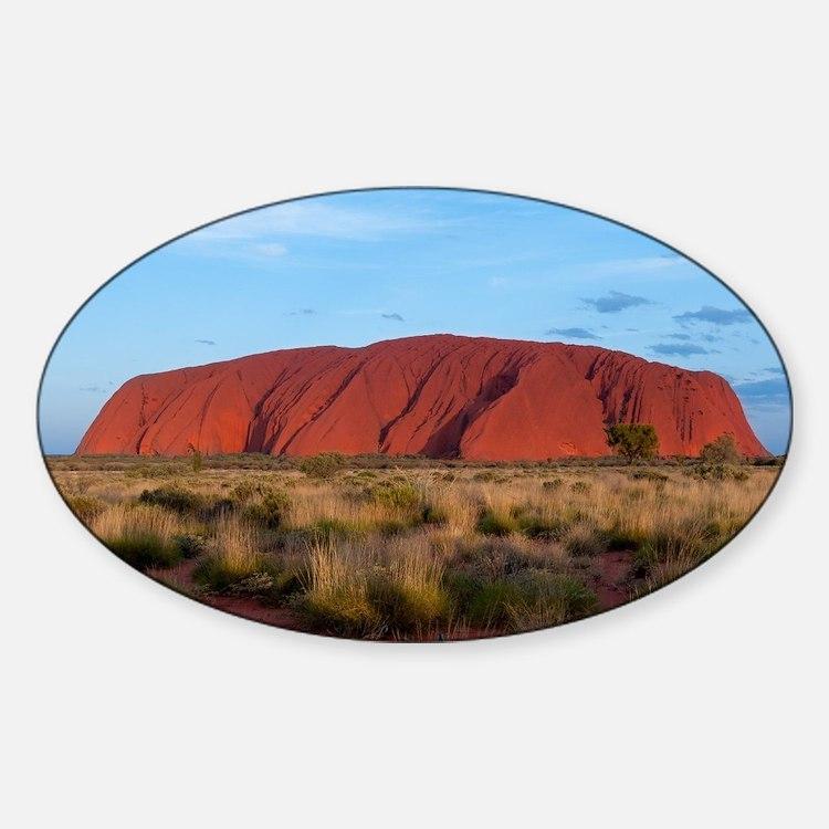 Ayers Rock Sticker (Oval)