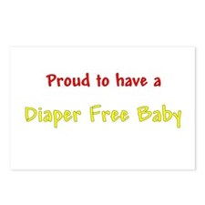 Proud To Have A Diaper Free Baby Postcards (Packag