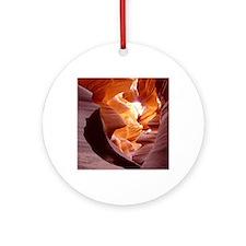 Antelope Canyon Round Ornament