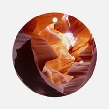 Antelope Canyon Round Ornament