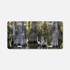 Cute Everglades Aluminum License Plate