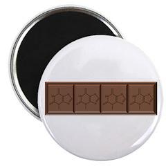 Chocolate Molecule Magnet