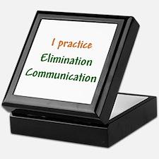 I Practice Elimination Communication Keepsake Box