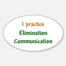 I Practice Elimination Communication Decal