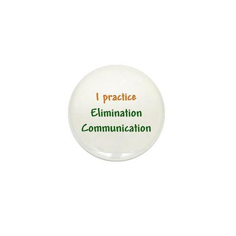 I Practice Elimination Communication Mini Button