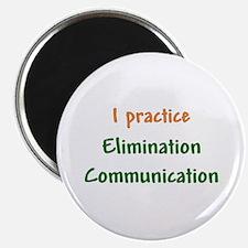 """I Practice Elimination Communication 2.25"""" Magnet"""