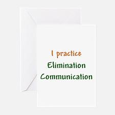 I Practice Elimination Communication Greeting Card