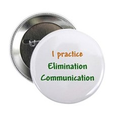 "I Practice Elimination Communication 2.25"" Button"