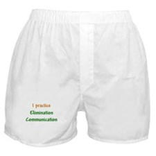 I Practice Elimination Communication Boxer Shorts