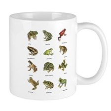 Frog and Toad Mugs