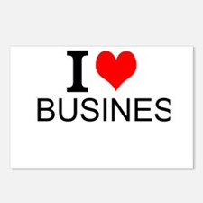 I Love Business Postcards (Package of 8)