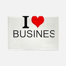 I Love Business Magnets