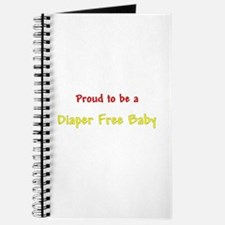 Proud To Be A Diaper Free Baby Journal