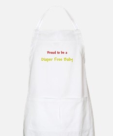Proud To Be A Diaper Free Baby BBQ Apron