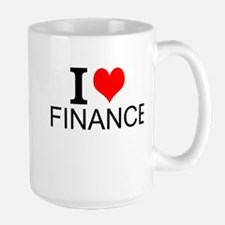 I Love Finance Mugs