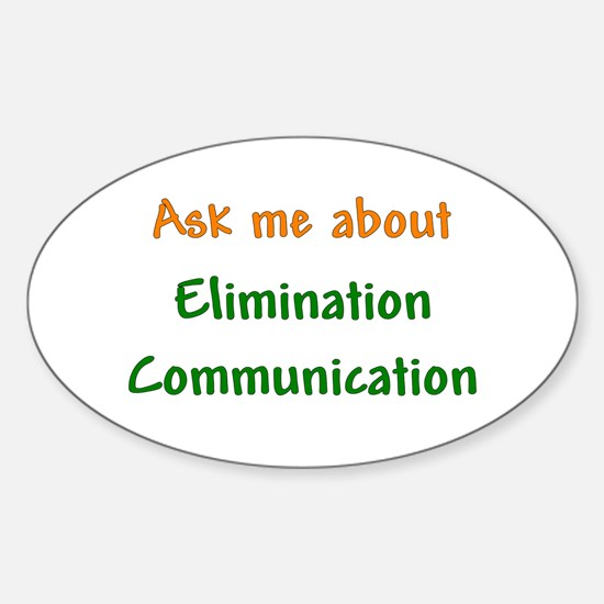Ask Me About Elimination Communication Decal