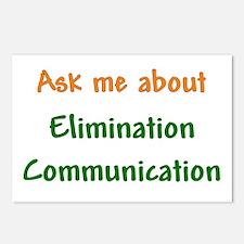 Ask Me About Elimination Communication Postcards (