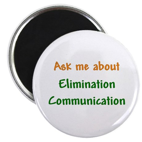 Ask Me About Elimination Communication Magnet