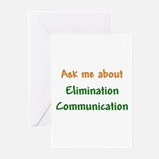 Ask Me About Elimination Communication Greeting Ca