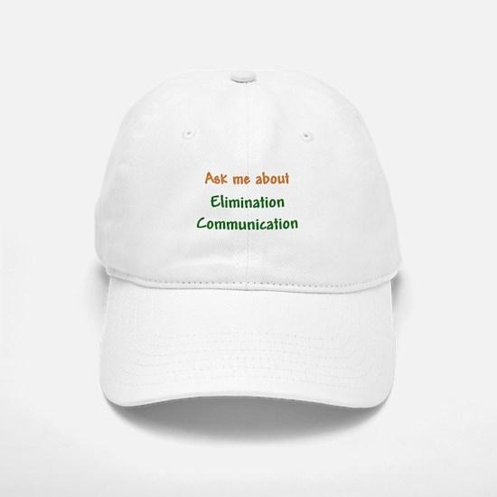 Ask Me About Elimination Communication Baseball Baseball Cap