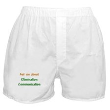 Ask Me About Elimination Communication Boxer Short