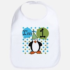Penguin 1st Birthday Bib