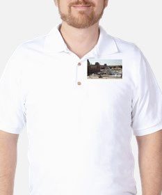 Louvre Pyramid Golf Shirt