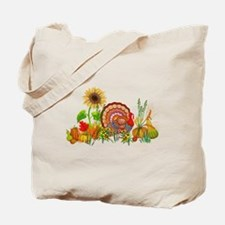 Autumn Thanksgiving Art Tote Bag