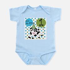 Cow 1st Birthday Infant Bodysuit