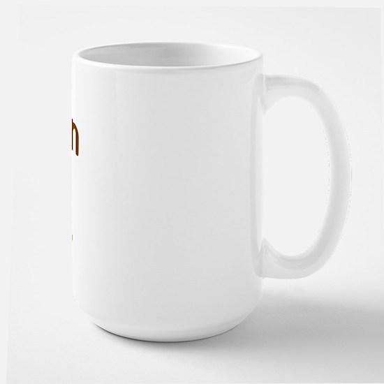 Just plain AUD. Large Mug