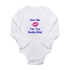 Cute Deductible Long Sleeve Infant Bodysuit