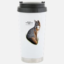 Santa Cruz Island Fox Stainless Steel Travel Mug
