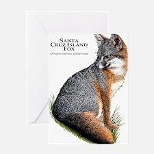 Santa Cruz Island Fox Greeting Card