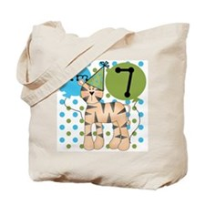 Tiger 7th Birthday Tote Bag
