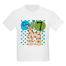 Tiger 7th Birthday T-Shirt