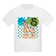 Tiger 5th Birthday T-Shirt